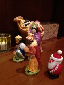 Santa and The Wise Men