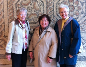Deb with two of our favorite Sisters - Annette & Mary. They visited us when we lived in England.