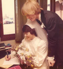 wedding marriage license