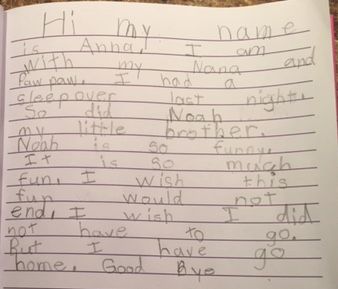 Anna's blog post