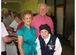 Mom & Dad celebrating Gene's 60th year as a Religious Sister