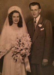 mom dad wedding