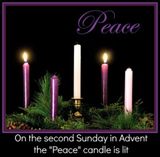 On-The-Second-Sunday-In-Advent-The-Peace-Candles-Is-Lit